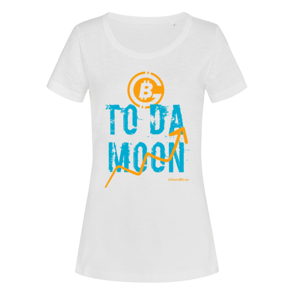 женска биткойн тениска