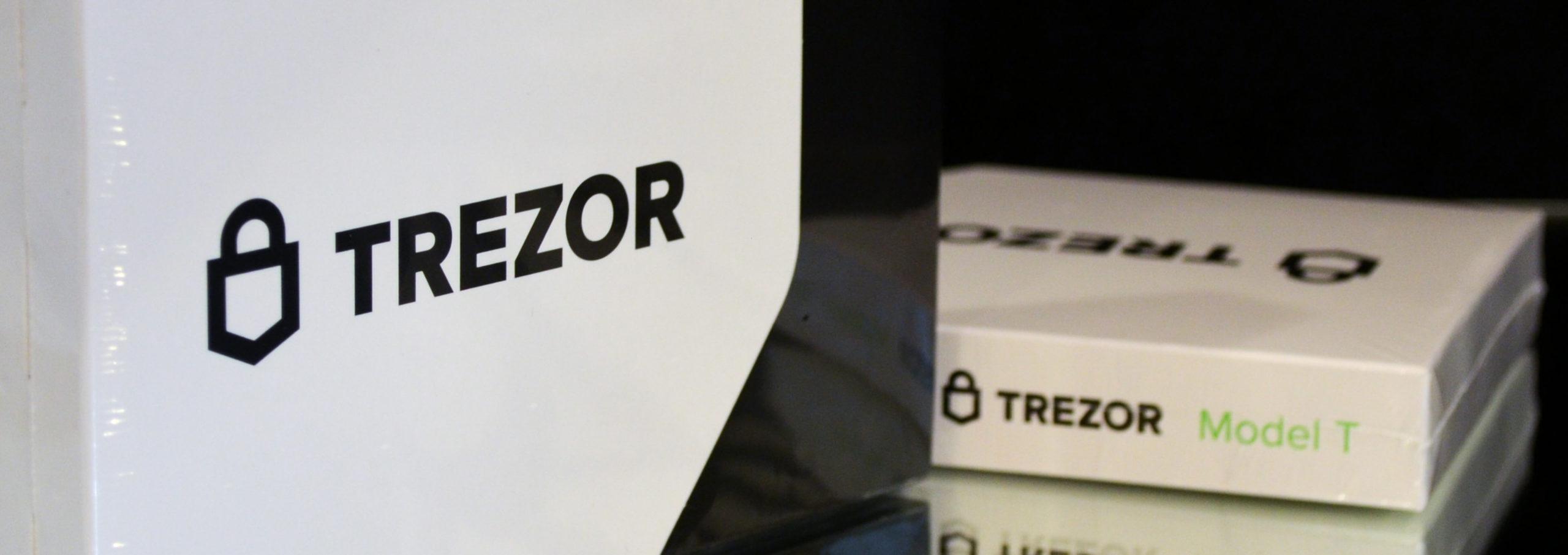 Trezor Model T BitcoinBG